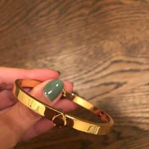 "Kate Spade ""Spade Bangle Bracelet""-gold"